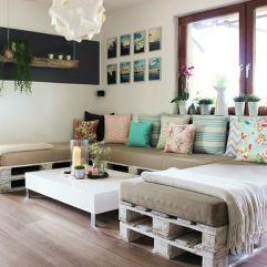 Originales camas hechas con palets