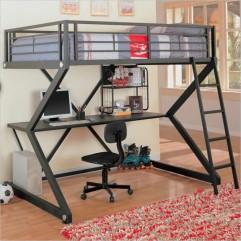 Cuchetas con escritorio, ideales para espacios pequeños
