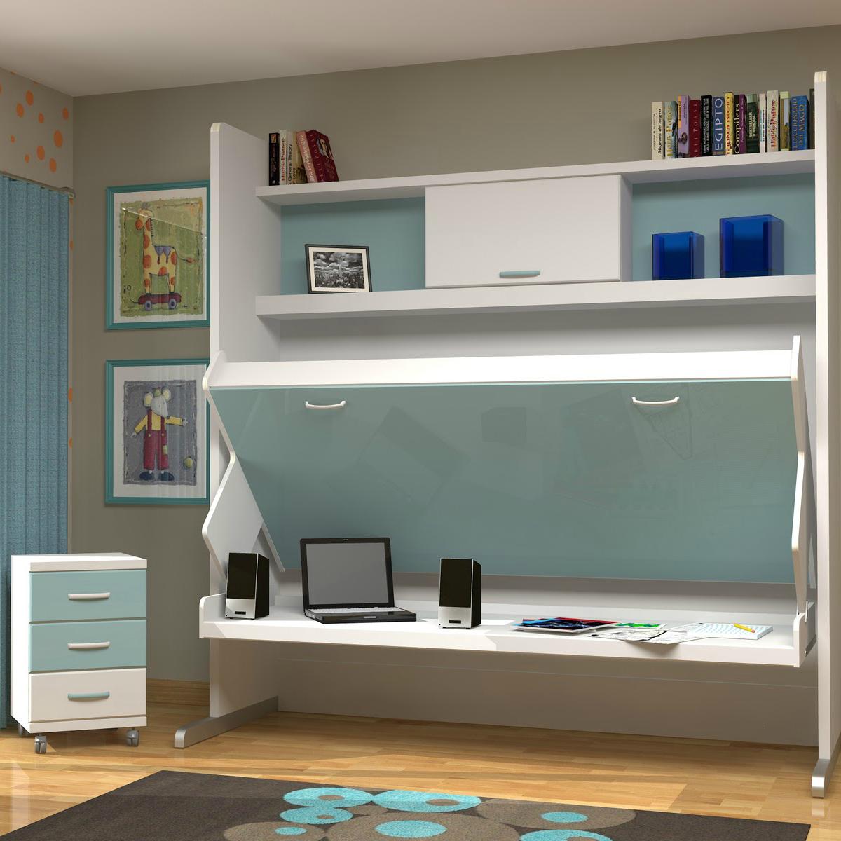muebles cuchetas con escritorio ideales para espacios pequeos