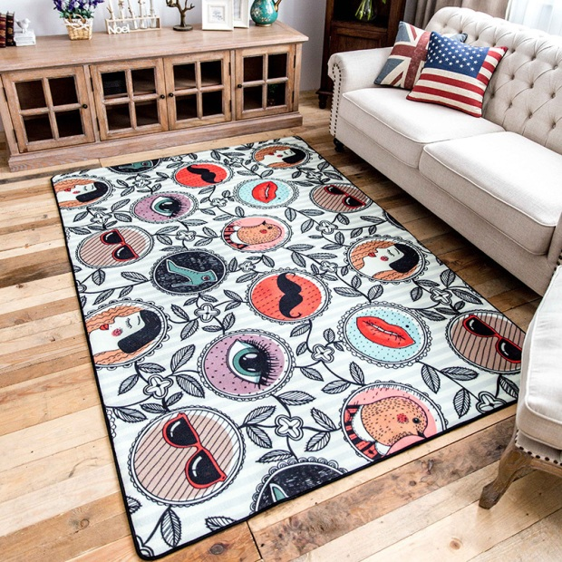 ¿Cómo calculo el tamaño de una alfombra para el living?