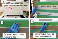 Cómo tunear muebles de melamina