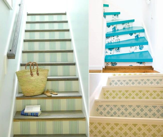 7. Pinta las escaleras