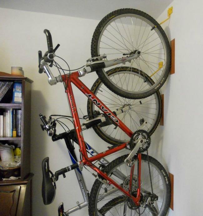 Cómo guardar bicicletas en departamentos pequeños