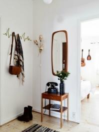 Cómo decorar un recibidor pequeño y oscuro